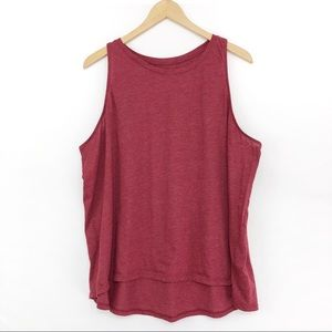 OLD NAVY Relaxed Tank Maroon XXL
